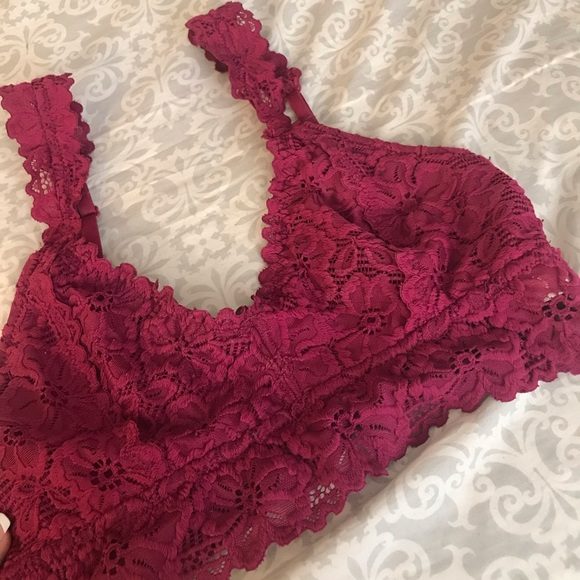 Aeropostale Other - Pink Lace Bralette